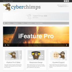 iFeature Pro WordPress theme from CyberChimps