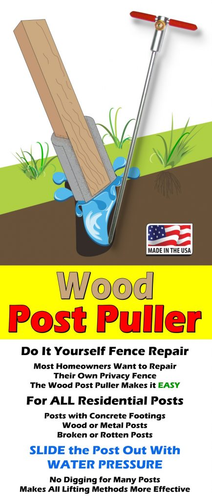 Wood Post Puller Sawyer Ventures Llc